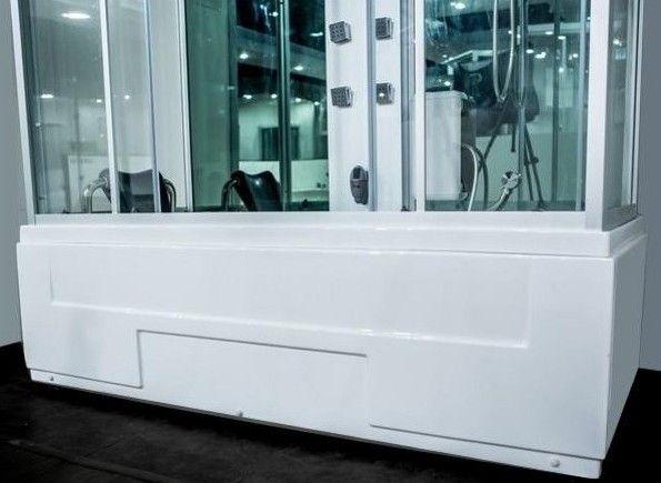 Cabina idromassaggio 170x80 con vasca nuovo display for Cabina doccia con vasca interna