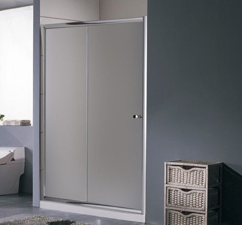 Porta per doccia a nicchia anta scorrevole in vetro pa - Porta per doccia a nicchia ...