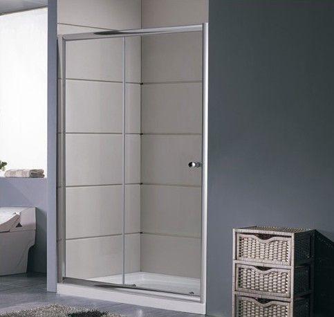 Porta doccia a nicchia anta scorrevole in vetro trasparente hd - Porta doccia nicchia prezzi ...