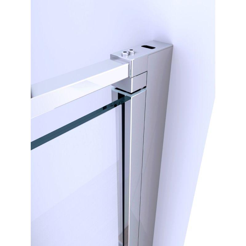 Box Doccia Cristallo Fumè : Box doccia anta fissa porta a battente h cristallo