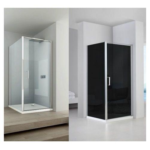 Box Doccia Cristallo Anta Fissa : Box doccia anta fissa porta a battente h cristallo