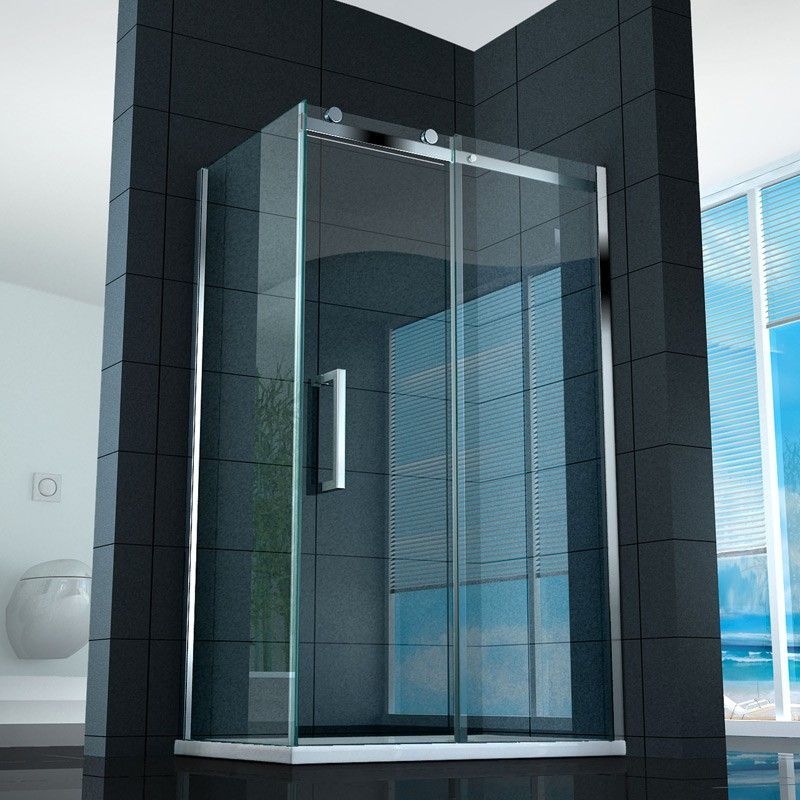 Box doccia cristallo offerte e risparmia su ondausu - Vetro doccia scorrevole ...