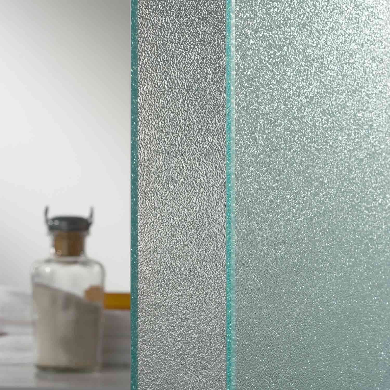 Box doccia angolare cristallo trasparente opaco h198 sistema di ...