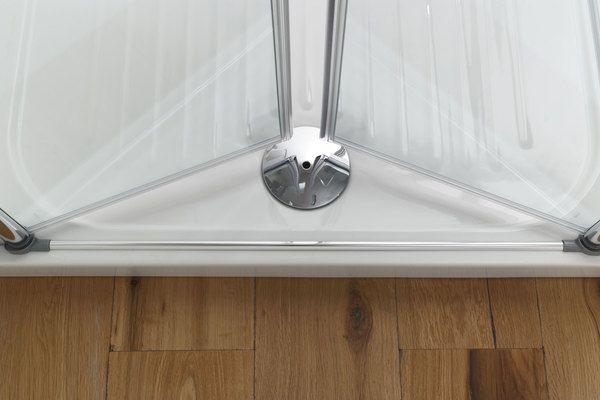 Porta doccia a nicchia con apertura a saloon in promo - Porta per doccia ...