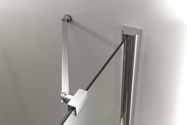 Porta doccia a nicchia apertura saloon a 2 ante fb - Ante per doccia ...