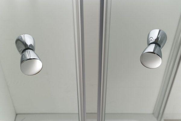 Porta doccia a nicchia, apertura saloon a 2 ante fb