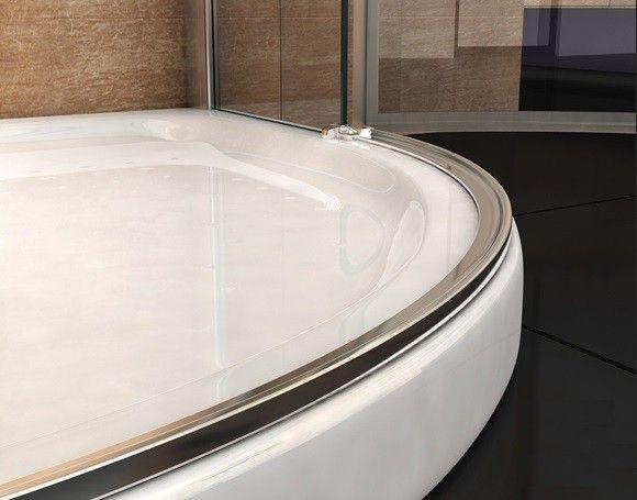 Box doccia angolare vetro trasparente opaco bagno italia pa - Box doccia porta battente ...