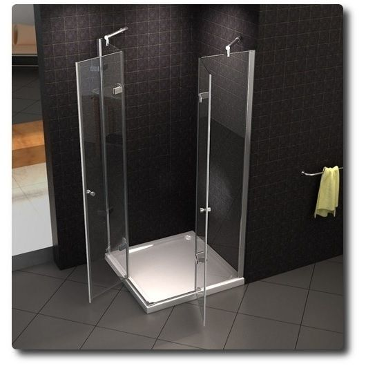 Box doccia angolare in cristallo trasparente offerta top - Siliconare box doccia interno o esterno ...