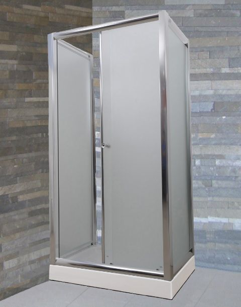 Box doccia angolare ad anta fissa bagno italia hd - Box doccia un anta ...
