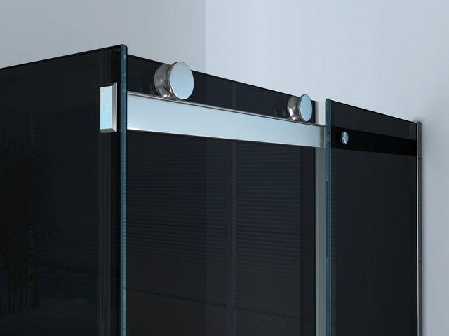 Box doccia quadrato o rettangolare porta scorrevole 8 mm - Misure porta scorrevole ...