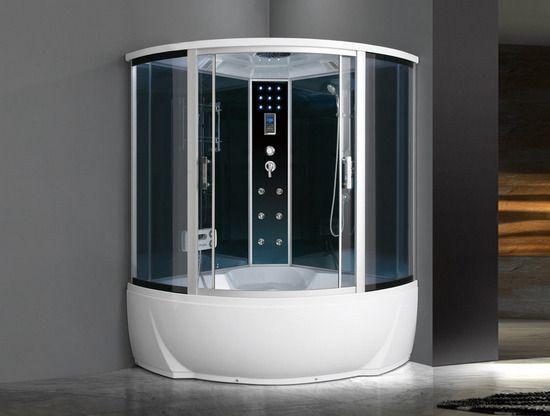Cabina e vasca idromassaggio con funzione bluetooth - Cromoterapia vasca bagno ...