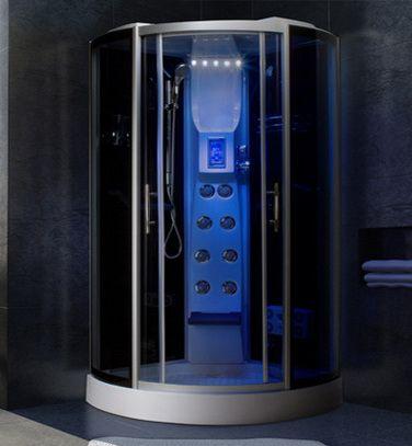 Cabina idromassaggio multifunzione 80x80 90x90 o 100x100cm im - Cabine doccia multifunzione prezzi ...