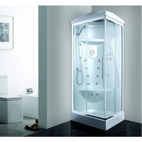 Box idromassaggio cabina 70x90cm o 70x110cm 18 idrogetti vi for Cabine doccia prezzi
