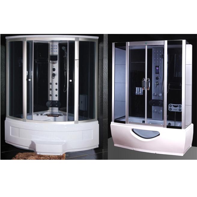 Cabina e vasca idromassaggio in pi misure con sauna e - Vasca con cabina doccia prezzi ...
