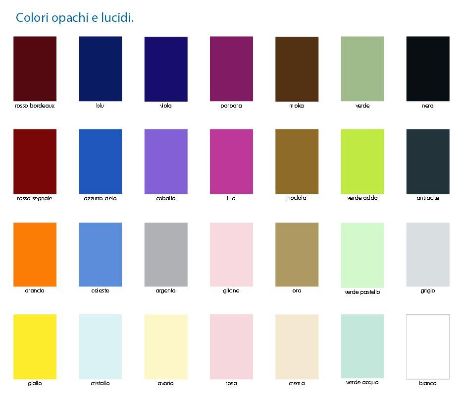 Mobile bagno in 30 colori o in legno per arredo moderno for Colori mobili