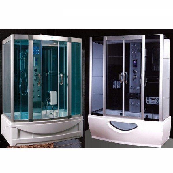 Cabina Box Doccia Multifunzione Con Vasca Idromassaggio E Sauna.Vasca Doccia Sauna Solo Altre Idee Di Immagine Di Mobili