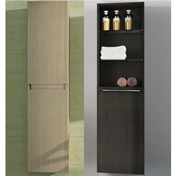 Colonna da bagno di diverse misure con due colori e doppia - Mobile colonna bagno ...
