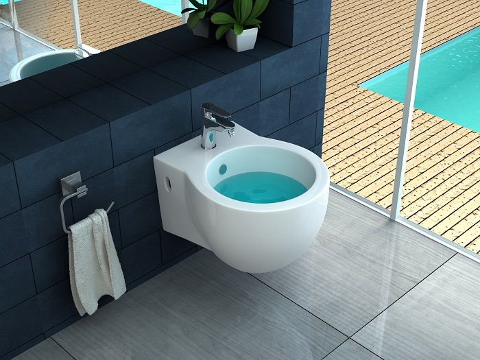 Coppia sanitari sospesi ovali wc e bidet copriwc a chiusura soft close bagno 05 ebay - Sanitari bagno sospesi prezzi ...