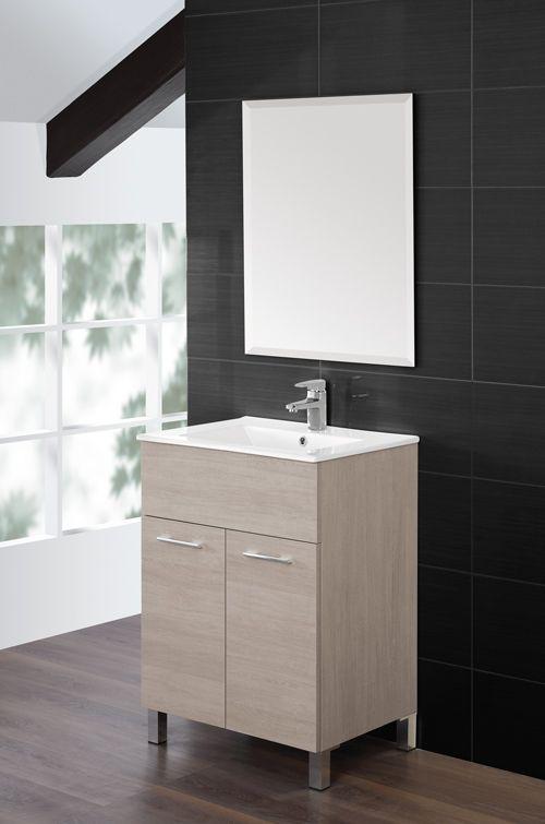 Arredo bagno coral mobile bagno moderno lavabo in - Mobile bagno profondita 30 cm ...