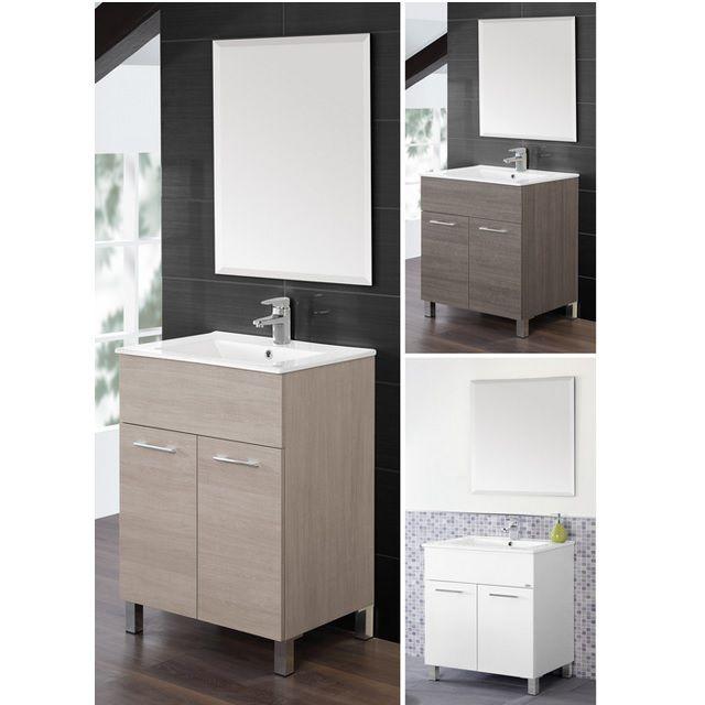 Arredo bagno coral mobile bagno moderno lavabo in - Mobili bagno economici ...