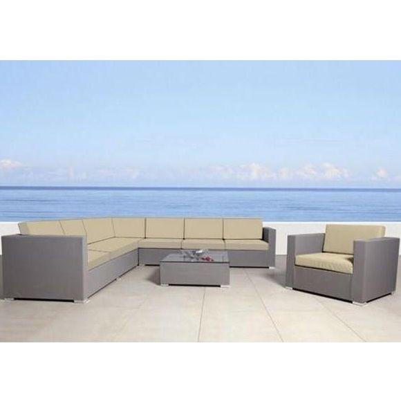 Divano angolare mara 270x80 sofa grande poltrona argento for Divano angolare grande