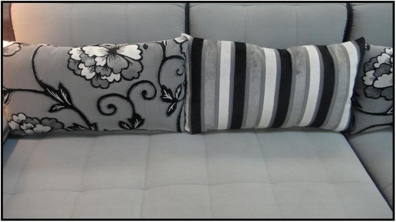 Divano soggiorno lavanda 300 cm moderno microfibra sfoderabile - Cuscini moderni divano ...