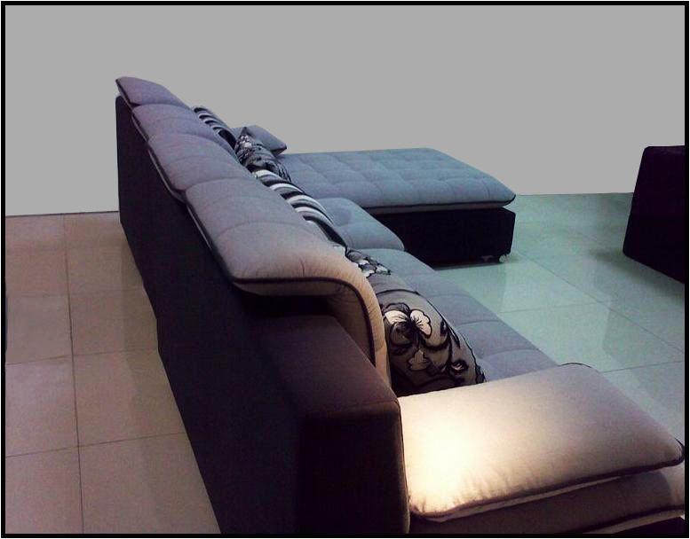 divano soggiorno lavanda 300 cm moderno microfibra sfoderabile - Soggiorno Angolare Componibile