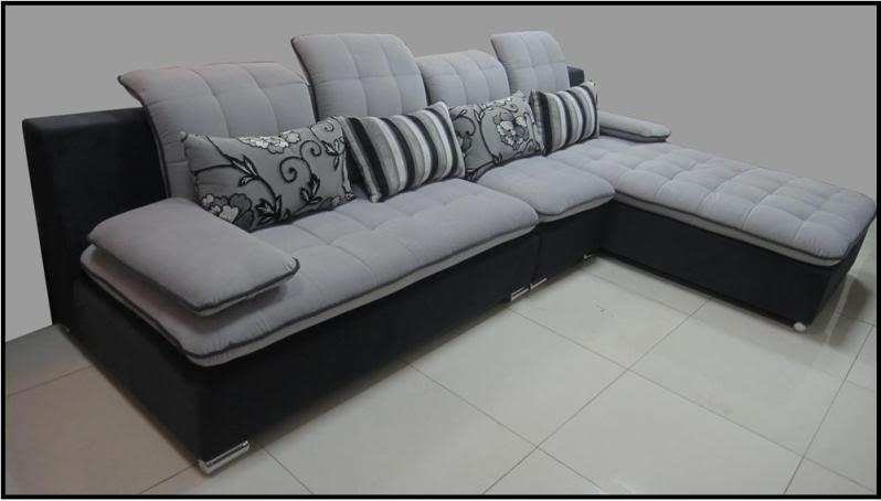 Divano soggiorno lavanda 300 cm moderno microfibra sfoderabile - Divano angolare usato ...
