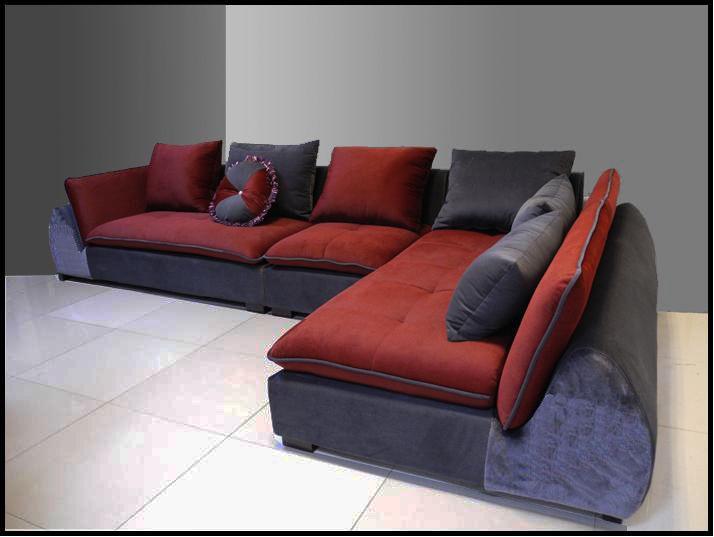 Divano soggiorno beatrice 360cm arredamento moderno - Divano angolare moderno ...