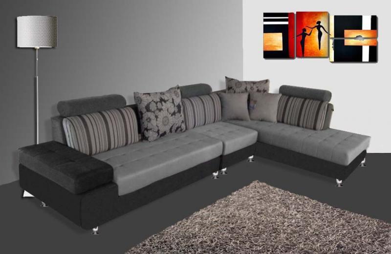 Divano mimosa 332 cm angolare con chaise longue soggiorno - Divano angolare misure ...