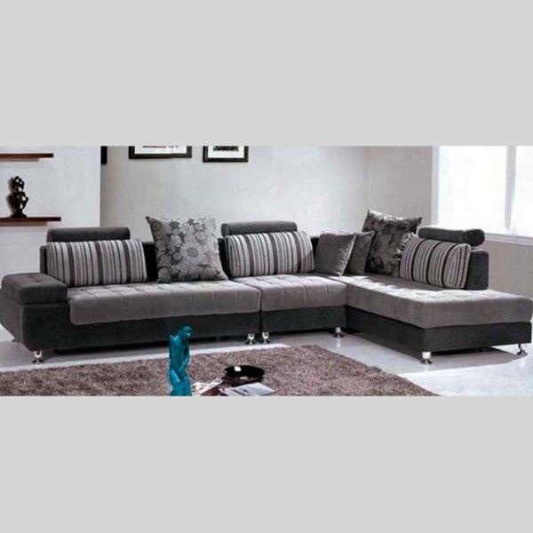 Divano mimosa 332 cm angolare con chaise longue soggiorno - Divano moderno angolare ...