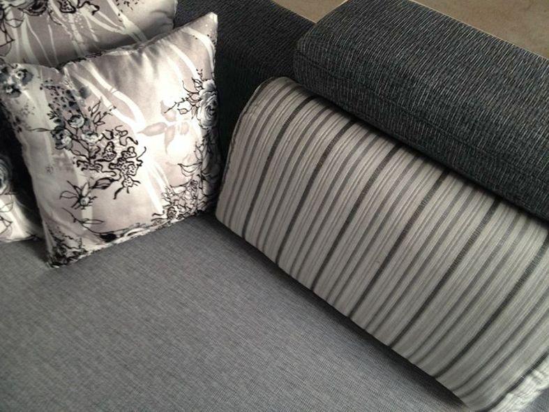 Divano angolare soggiorno perla 330 cm microfibra con penisola - Microfibra divano ...