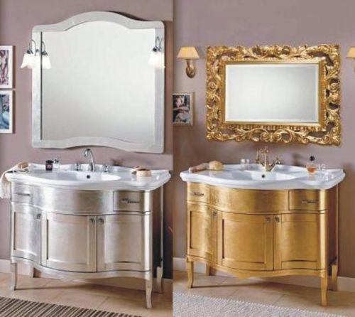 Base donatello 170x50x40p in noce decap foglia oro argento - Pomelli colorati per mobili ...
