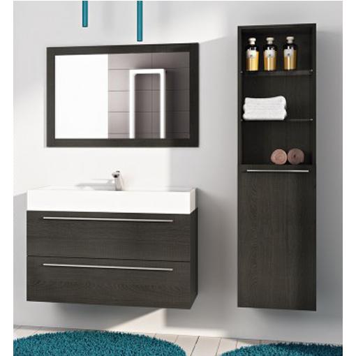 mobile per arredo bagno gemma, lavabo integrale pa - Arredo Bagno 90 Cm