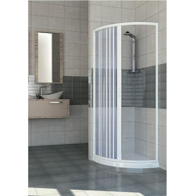 Box doccia semicircolare in PVC