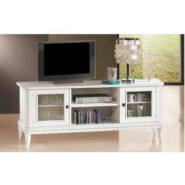 Mobile Nancy Porta TV basso 2 modelli diverse misure colore bianco ...