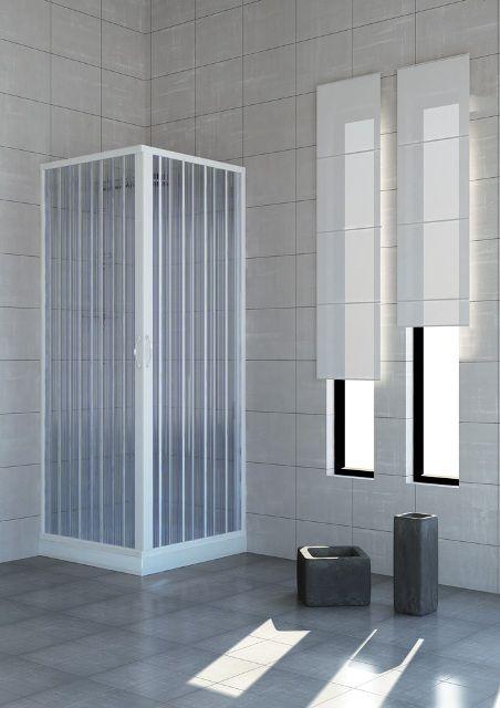 Box doccia rettangolare in pvc - Box doccia chiuso sopra ...