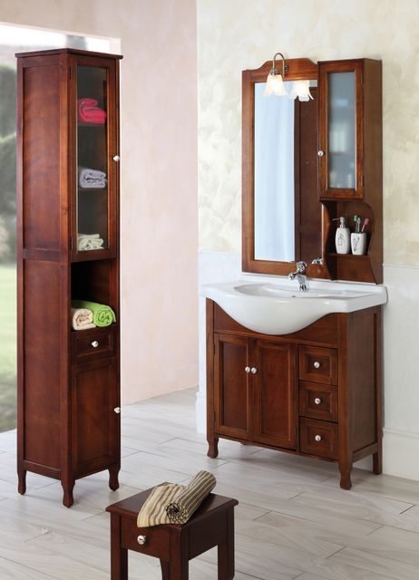 Mobile Bagno Federica 105 Noce New Pictures to pin on Pinterest