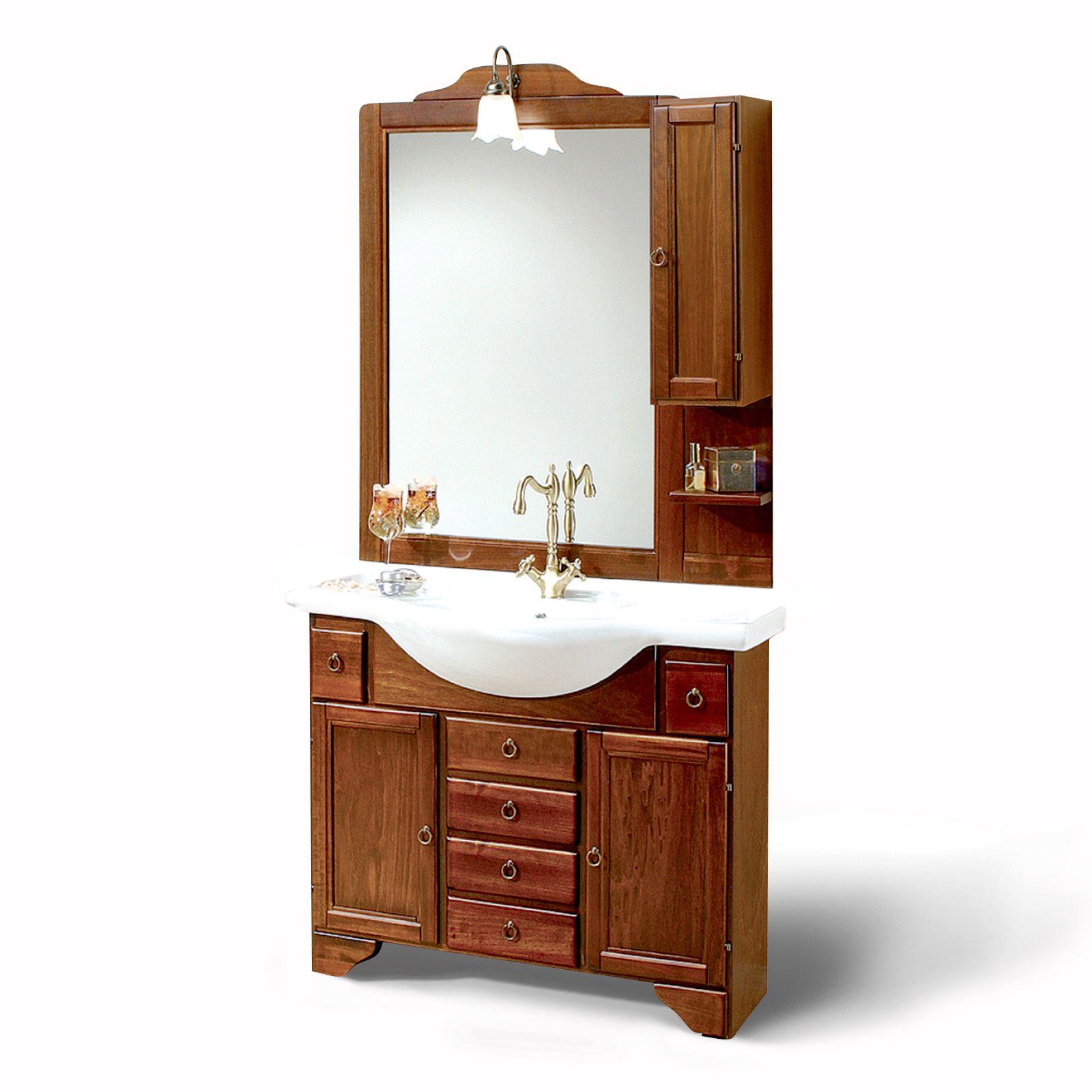 Mobile bagno portofino 105 arte povera de for Mobile bagno rustico moderno