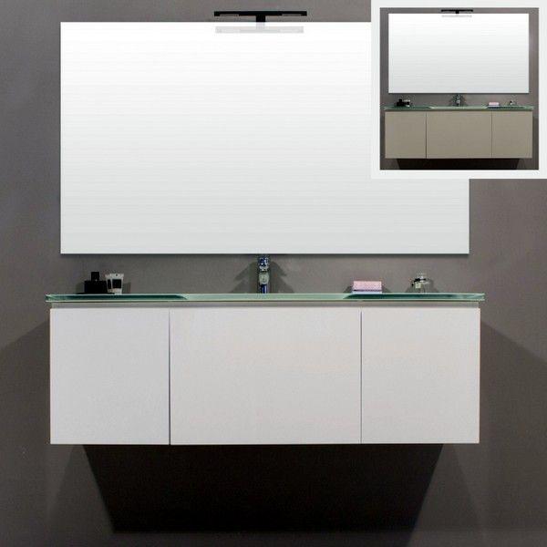 Mobile bagno amos mobile arredo moderno vari colori bz - Bagno grigio e bianco ...