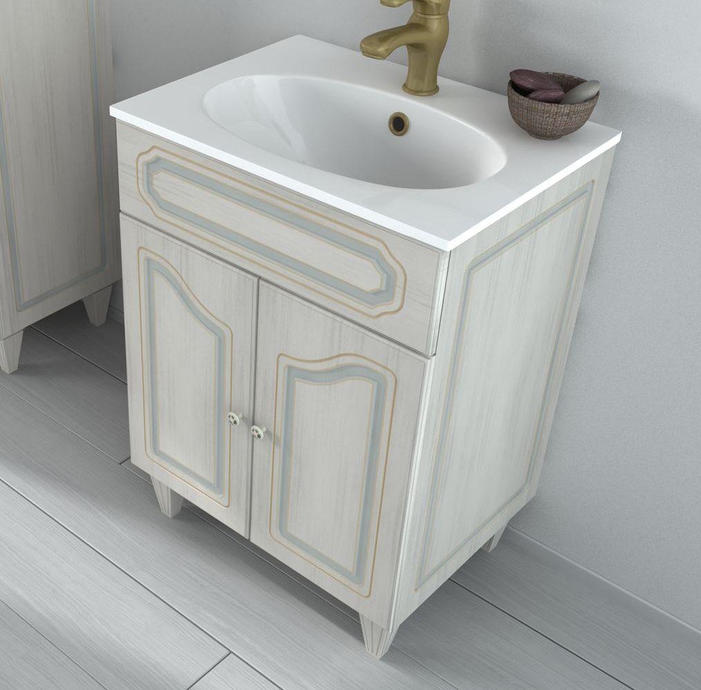 Mobili bagno doppio lavabo160 - Mobili bagno arte povera ...