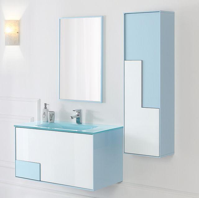 Mobili non disponibili : Arredo Bagno Bcolor 90 cm lavabo in cristallo ...