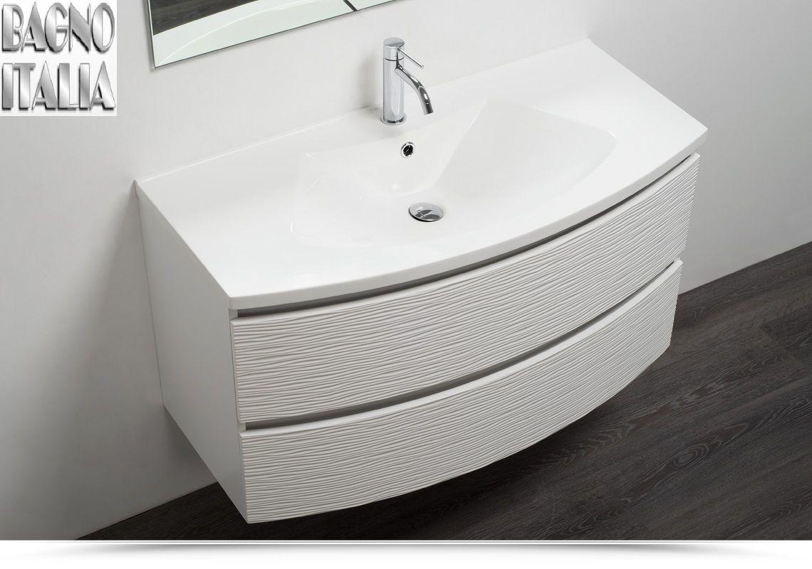 MDF 100 lavabo in arredo 4 mineralmarmo MDF 2 in cm bagno ...