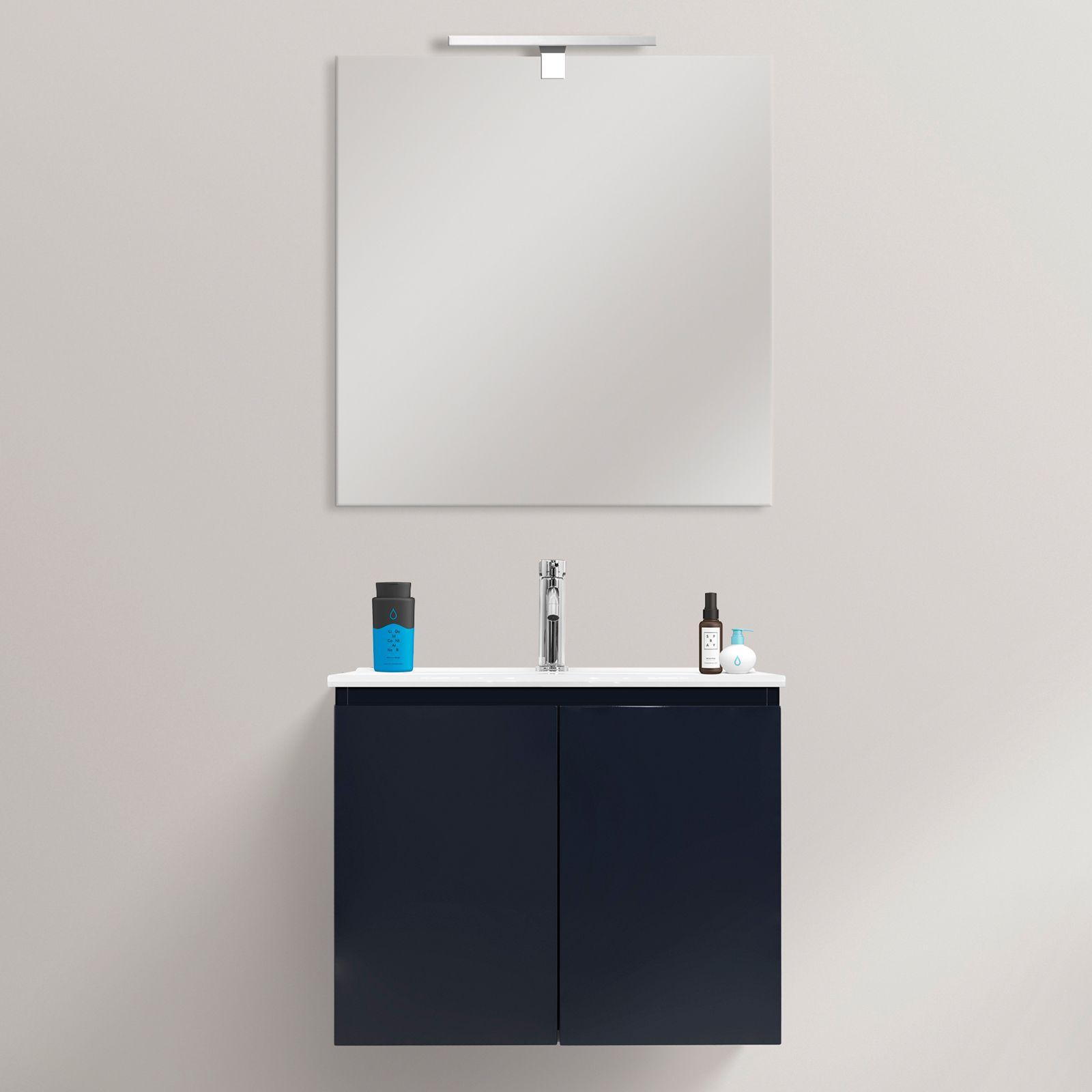 Mobile bagno fire 60x36 ultraslim sospeso moderno lavabo for Mobile bagno 60