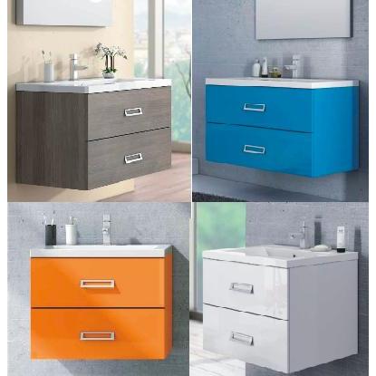arredo bagno line, mobile bagno moderno, diversi colori bb - Arredo Bagno Moderno Economico