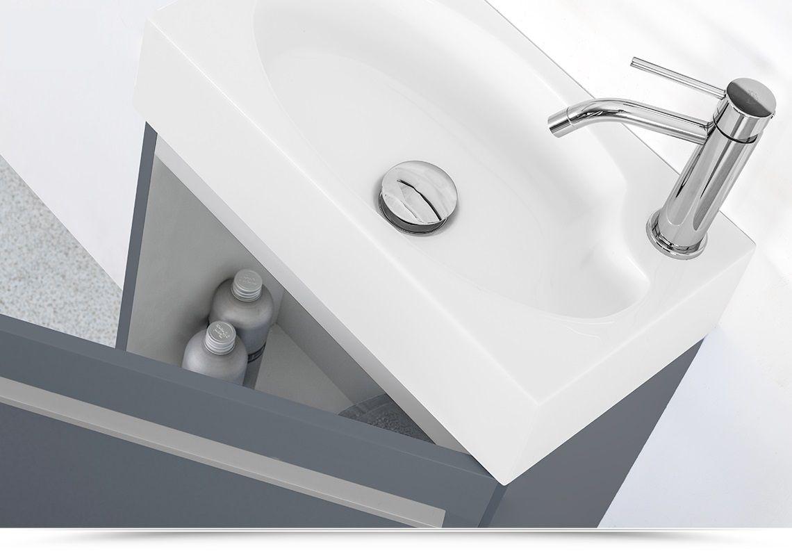 Lavandini Bagno Salvaspazio : Lavabo bagno salvaspazio mobile bagno sospeso karma cm specchiera