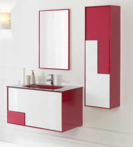 mobili non disponibili : arredo bagno bcolor 90 cm lavabo in ... - Arredo Bagno 90 Cm