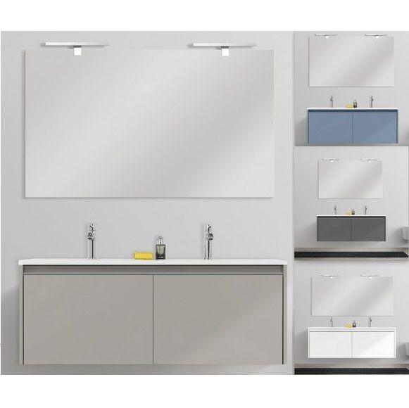 Mobile bagno moderno yang 120 cm sospeso doppio lavabo - Colori bagno moderno ...