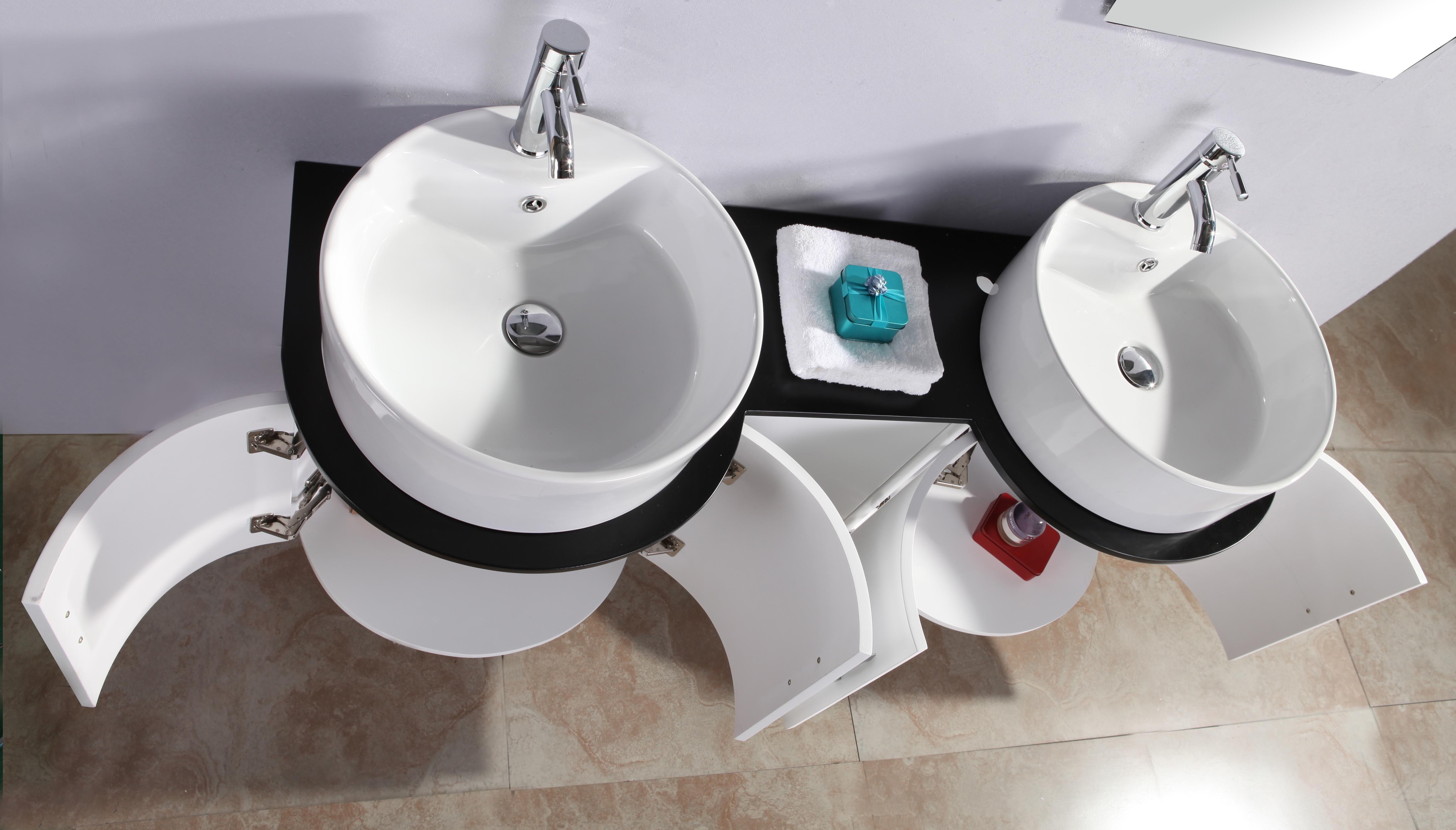 Mobiletto con specchio per bagno voffcacom terrazza - Lavandini con mobiletto ...