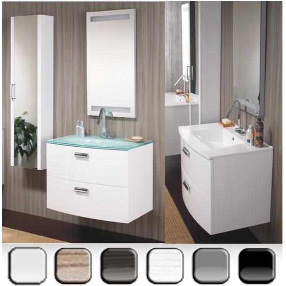 Arredo bagno moderno converse in vari colori bh - Mobile bagno blu ...